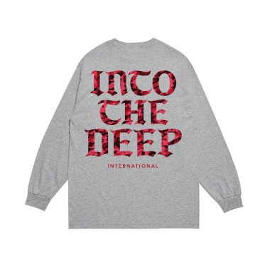 DEEP RED CAMO L/S